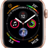 Apple Watch Sport Series 4 44mm Gold Aluminum Case with Pink Sand Sport Loop